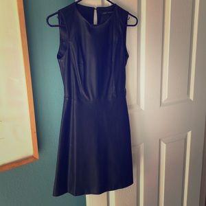 Zara Pleather Dress